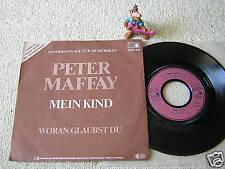 """PETER MAFFAY Mein Kind 7"""" +PS RARE SONDERAUFLAGE FÜR MUSIKBOXEN, METRONOME"""