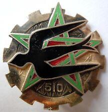Insigne 1945 WWII 510° GROUPE DE TRANSPORT TRAIN  AFN Drago Béranger ORIGINAL