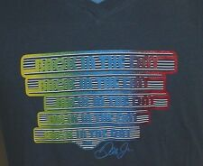 """Dale Earnhardt Jr Autograph """"Back In The Day"""" Nascar  Womens T Shirt S, M, & L"""