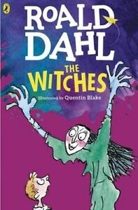 The Witches by Roald Dahl (Paperback, 2016) Puffin Books New