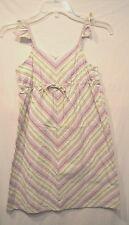 Old Navy Girl's Purple Green White Dress---10