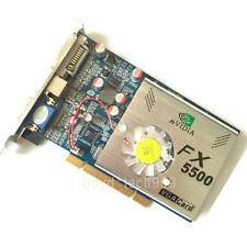 NEW nVIDIA FX5500 256MB 128bit PCI DDR VGA/DVI /S-Video Video Card FX 5500 3D