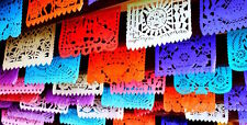 Any Occasion party papel picado Mexican Banner Para Fiestas de toda ocasions