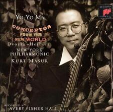 Concertos from the New World Yo-Yo Ma Audio CD