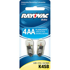 Rayovac Krypton K4SB-2 Bulb for 4AA - 4C - 4D Flashlights