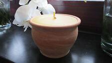 Schmelzlicht , Kerze , Fackel mit Kupferbrenner (Spirale) für Innenräume TON