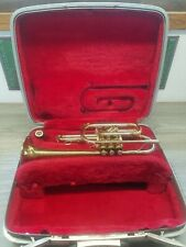 Vintage Reynolds Medalist Trumpet with Hard Case and #5 Mouthpiece Made USA