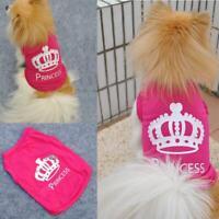 Outfit Coat Costumes Cat Princess Summer T-shirt Dog Clothes Pet Vest