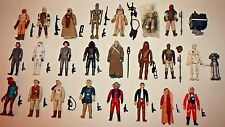 Lot of 25 VINTAGE Star Wars Action Figures ALL COMPLETE 1977-1983 Leia Han Luke