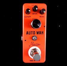 ROWIN LEF-3804 MINI Auto Wah Pedal De Efecto Para Guitarra con verdadera por pasar