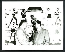 Jack Dempsey & Max Schmeling 1950 's Press Photo Heavyweight Boxing Champions