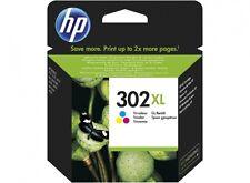 Cartuccia inchiostro tricolore ORIGINALE HP 302 XL (F6U67AE) per OfficeJet 3830