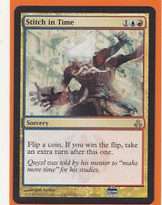 MTG 1 x  STITCH IN TIME  Guildpact  Rare Gold card  Instant  Never played