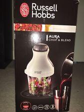 RUSSELL HOBBS CHOP AND BLEND MINI CHOPPER, Blender and Mini food processor