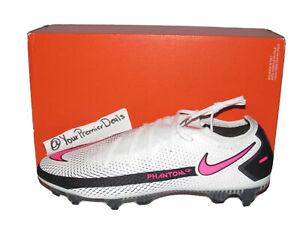 Nike Phantom GT Elite SG-Pro Soccer Cleats White Pink CV2522-161 Mens Size 9
