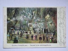 POSTUMIA Postojna grotte Slovenia Slovenija vecchia cartolina AK 10834
