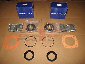 Pair of New Rear Axle Wheel Bearing Kits  Seals MG Midget Healey Sprite Bugeye