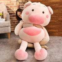 Giant Big Lovely Pig Plush Soft Toy Doll Stuffed Animal Pillow Cushion Gift 59''