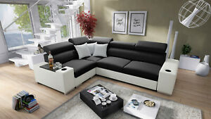 Brand New corner sofa bed with storage Perseo II