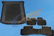 Gummi-Fußmatten+Kofferraumwanne VW SHARAN II 2010-heute