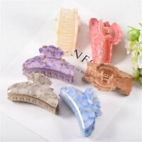 Hairgrips Hair Updo Clamp Ponytail Hair Claw Acrylic Hairpin Crab Barrette
