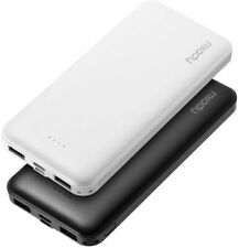 NEW 2 Pack 10,000mAh Mobile Dual USB LED Portable Charger for All Phone Devices