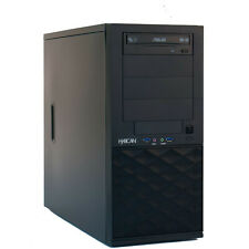 Hyrican BTO MT Intel i5-7400 4x3,0Ghz. 8GB RAM 240GB SSD 500GB SATA DVD-RW Win10