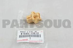 8155513510 Toyota SOCKET & WIRE SUB-ASSY, REAR COMBINATION LAMP, RH/LH