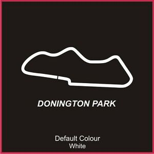 Donington Park Circuit Decal, Track, Vinyl, Sticker, Graphics, Car, N2002