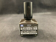Mr. Hobby Mr. Weathering Color WC02 Ground Brown 40ml Bottle New Ships Free