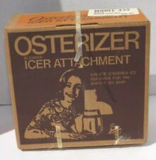 Vtg Osterizer Blender Icer Ice Crusher Attachment New Old Stock Sealed Box #435