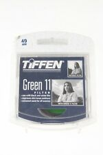 Tiffen 49mm Green 11 (1) Filter NEW FROM OLD STOCK