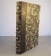 MERY / LES DAMNES DE L'INDE / RELIURE 1/2 CUIR 1868