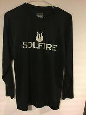 Xdri Solfire Logo biking Short Sleeve Shirt compression Mens S base layer