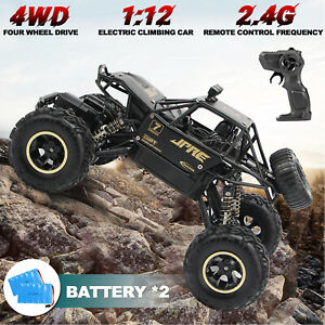 Large 4WD Remote Control RC Cars Monster Off-Road Monster Truck Kids Toys Buggy
