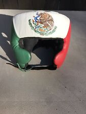 Fightgear Mexico Flag Boxing Sparring Headgear Padding Training Vintage ? Sz L