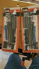 Life-Like Trains T 604 & T 605 Right & Left Remote Control Switches HO Scale NIP