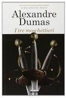 I tre moschettieri di A. Dumas LIBRO Nuovo Crescere Edizioni