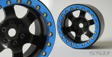 """SSD RC 2.2"""" Rock Racer Beadlock Wheels (Black) SSD00098"""