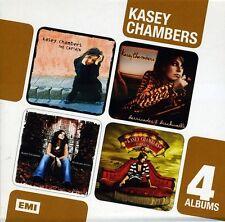 4 Albums Box Set: The Captain/Barricades & Brick - Kasey Chamber (2011, CD NEUF)