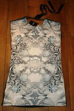 NEW&TAGS NEXT sequined dress SIZE 8 paisley embellished party club top UNUSUAL