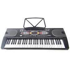 Tastiera Elettronica Keyboard DynaSun MK2085 61 Tasti LCD USB Teaching Demo