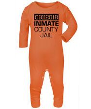 Inmate County Jail Baby Romper