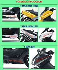 2 ADHESIVOS/PEGATINAS prespaziati TMAX compatible x SCOOTER YAMAHA T MAX 01-16