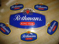 Rothmans patches,emblem,logo. 6pcs.