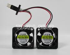 FANUC Servo Amplifier Fan A90L-0001-0507#B San Ace 40WF 9WF0424F6D04, 24V 0.076A