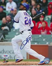 DEXTER FOWLER SIGNED 8x10 PHOTO PSA/DNA AUTO #AB52827 CHICAGO CUBS WS CHAMP