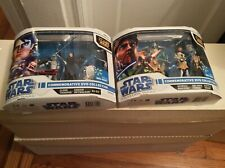 """Star Wars Clone Wars Commemorative Dvd Collection with Six 3.75"""" Action Figures"""