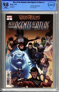 War of the Realms New Agents of Atlas #1 CBCS 9.8 - Marvel Comics