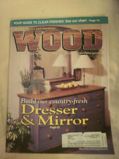 WOOD BY BETTER HOMES AND GARDENS WINTER 1998 ISSUE #111 - WOODWORKING MAG